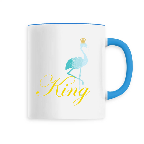 Mug Flamant Rose King | ROSEUS