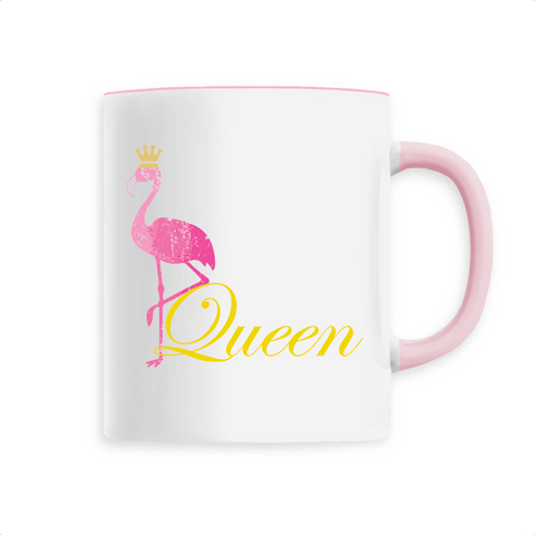 Mug Flamant Rose Queen