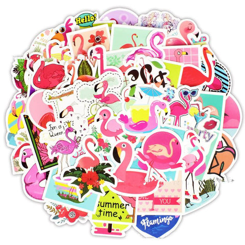 Petits Stickers Flamant Rose | ROSEUS