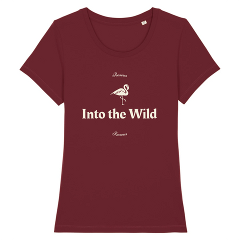 T-Shirt Into The Wild (Coton Bio) | ROSEUS