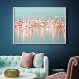 Tableau Flamants Roses Camargue | ROSEUS