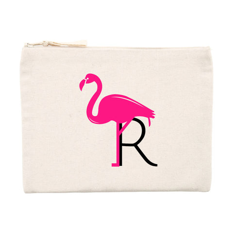 Trousse à Maquillage Flamant Rose