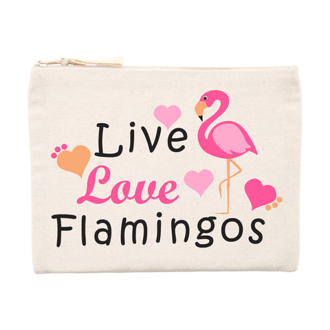 Trousse Flamant Rose Love | ROSEUS