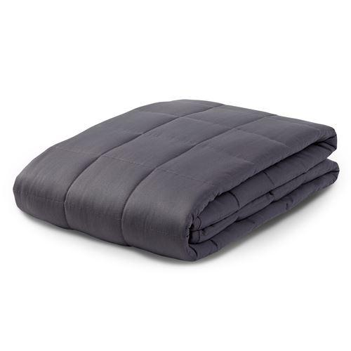 15LB Weighted Blanket Packaging in Dove Gray