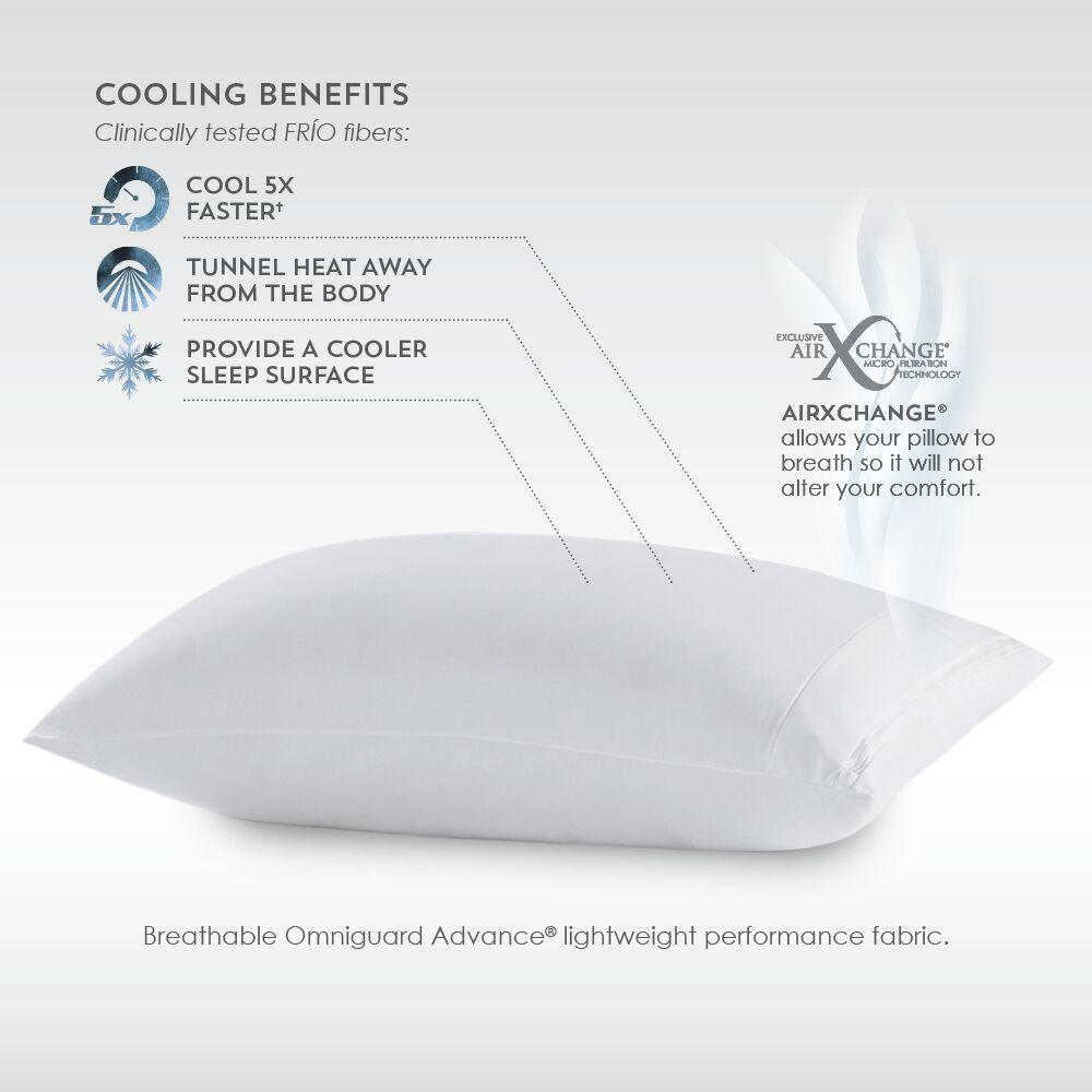 PureCare Frio Pillow Protector Cooling Benefits