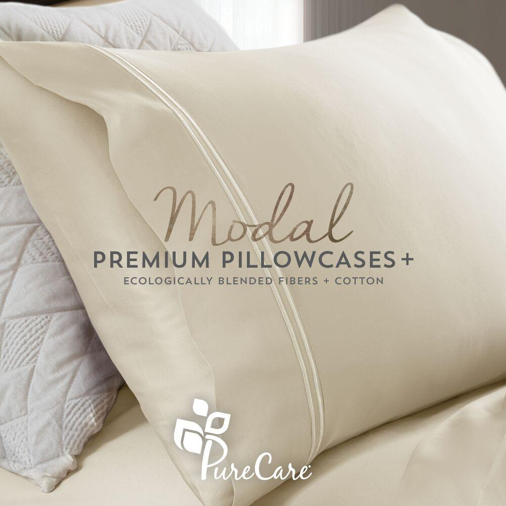 PureCare Modal Pillowcase on Pillow
