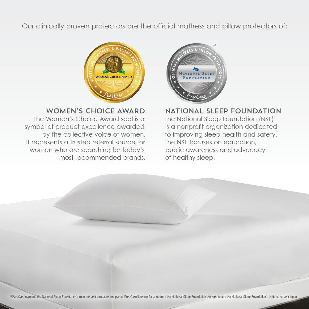 PureCare ReversaTemp 5-Sided Mattress Protector Awards