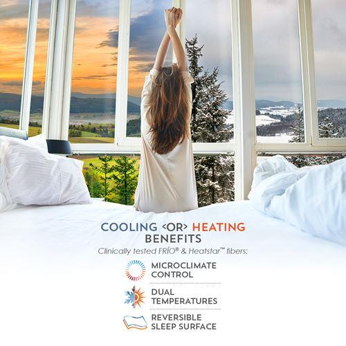 PureCare ReversaTemp Pillow Protector Cooling or Heating Benefits