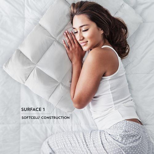 PureCare SUB-0° SoftCell Chill Reversible Hybrid Pillow Lady Sleeping Surface 1