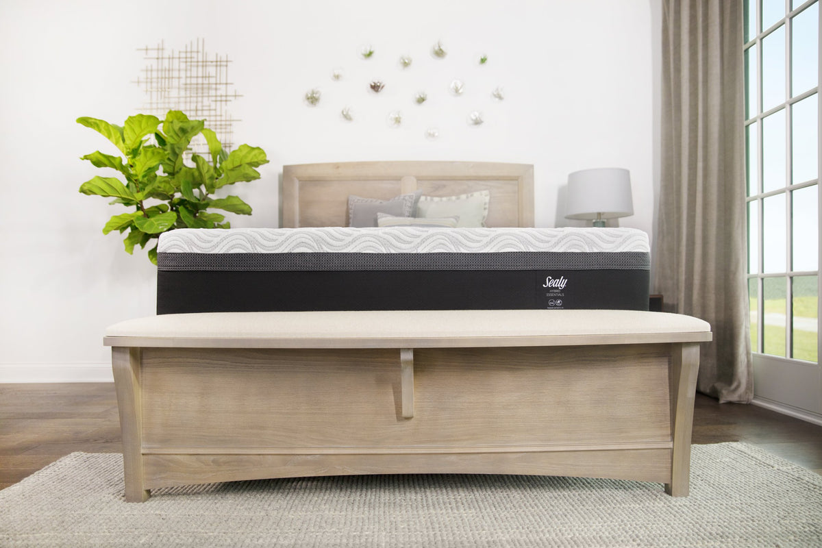 Sealy Hybrid Trust II Mattress Bedroom Lifestyle Front View