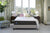 Sealy Posturepedic Response Premium Cushion Firm Mattress Set Bedroom Front View