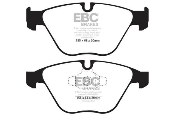 EBC 13+ BMW X1 2.0 Turbo (28i) Yellowstuff Front Brake Pads
