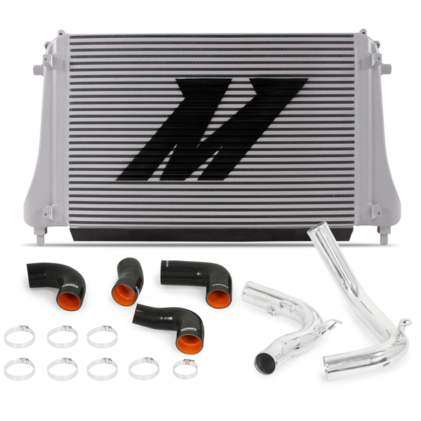 Mishimoto 2015+ VW MK7 Golf TSI / GTI / R Performance Intercooler Kit w/ Pipes (Polished)