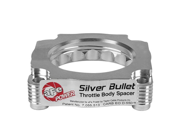 aFe Silver Bullet Throttle Body Spacer 12-15 BMW 328i (F30) L4-2.0L N20/N26