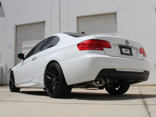 aFe MACHForce Exhaust Cat-Back SS-304 w/ Polished Tips 07-13 BMW 328i (E92/93) L6 3.0L Non-Turbo