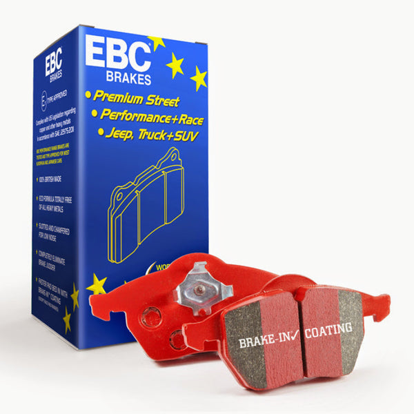 EBC 12+ BMW M5 4.4 Twin Turbo (F10) Redstuff Front Brake Pads