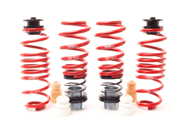 H&R 13-19 BMW 640i Grand Coupe F06 VTF Adjustable Lowering Springs (Incl. Adaptive Drive)