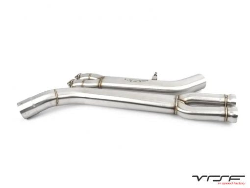 VRSF Stainless Steel Dual to Single Midpipe
