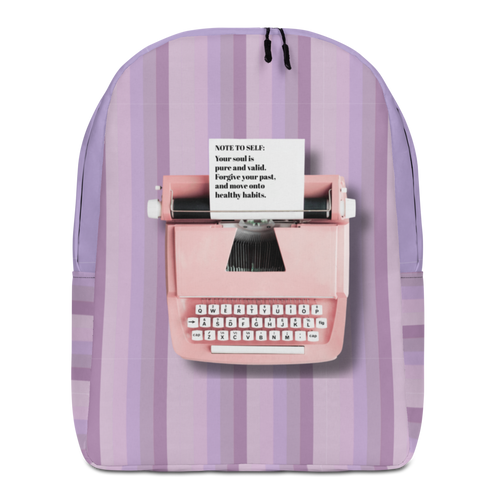 Note To Self Minimalist Backpack
