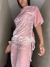 Load image into Gallery viewer, The Classy Casual Velvet Top - Pink