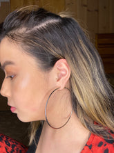 Load image into Gallery viewer, Hoop Earrings - Silver