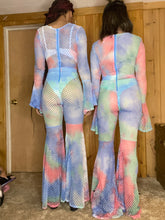 Load image into Gallery viewer, Mesh Mamí Jumpsuit - Pastel