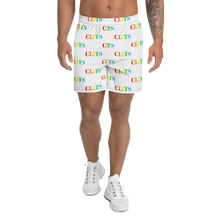 Load image into Gallery viewer, CLITS Men's Athletic Long Shorts - White