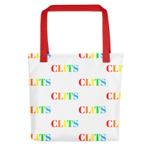 Load image into Gallery viewer, CLITS Tote bag - White