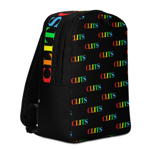 CLITS Minimalist Backpack - Black