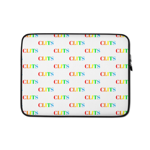 CLITS Laptop Sleeve - White