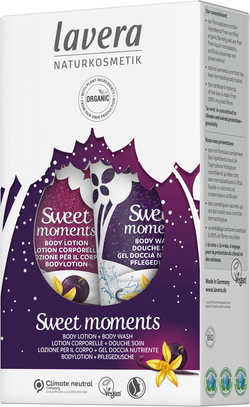 lavera Sweet Moments Gift Set