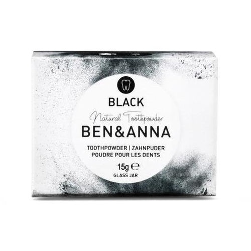 Ben & Anna Natural Toothpowder - Black 15g-Just Beauty Organics Store