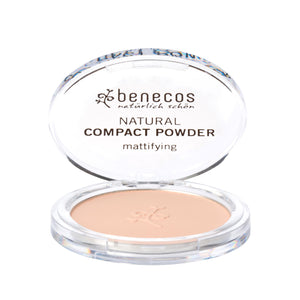 benecos Compact powder 9g-Just Beauty Organics Store