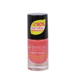 benecos Flamingo Nail Polish 5ml-Just Beauty Organics Store