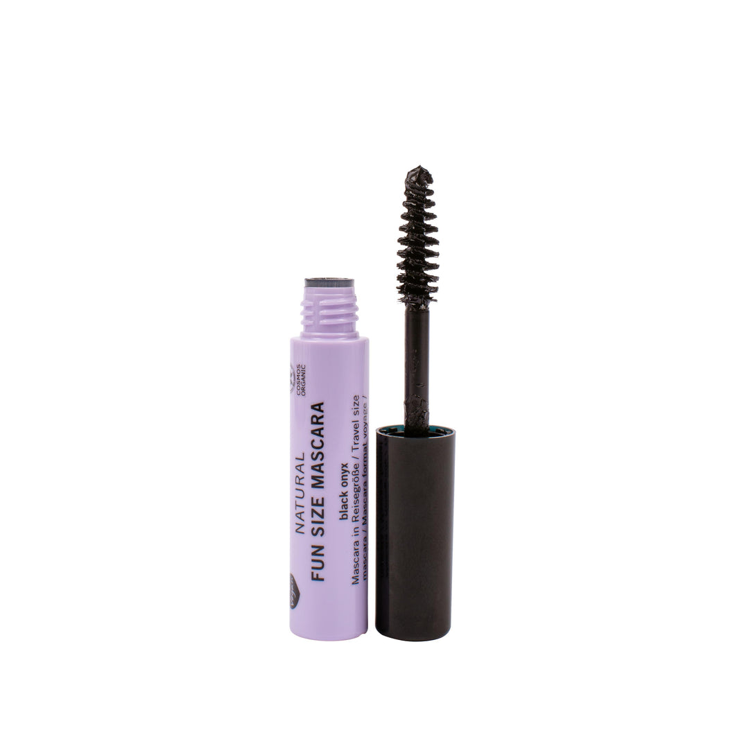 benecos Natural Fun Size Mascara (Black Onyx) 2.5ml-Just Beauty Organics Store