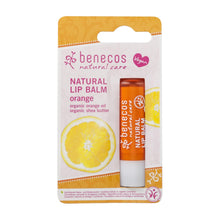Load image into Gallery viewer, benecos Natural Lipbalm 4.8g-Orange-Just Beauty Organics Store