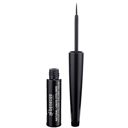 benecos Natural Liquid Eyeliner (Black) 3ml-Just Beauty Organics Store