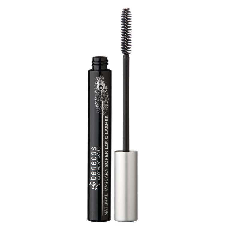 benecos Natural Mascara Super Long Lashes (Carbon Black) 8ml-Just Beauty Organics Store