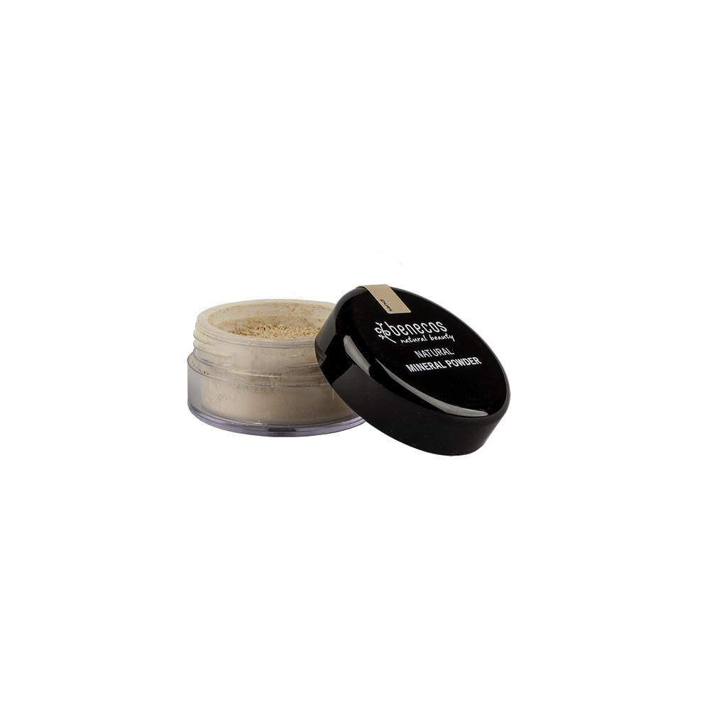 benecos Natural Mineral Powder 10g-Sand-Just Beauty Organics Store