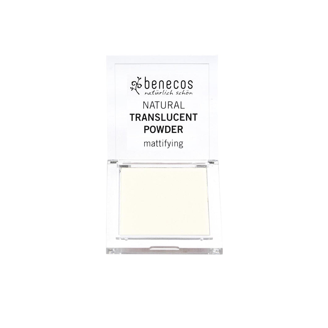 benecos Natural Translucent Powder (Mission Invisible) 6.5g-Just Beauty Organics Store