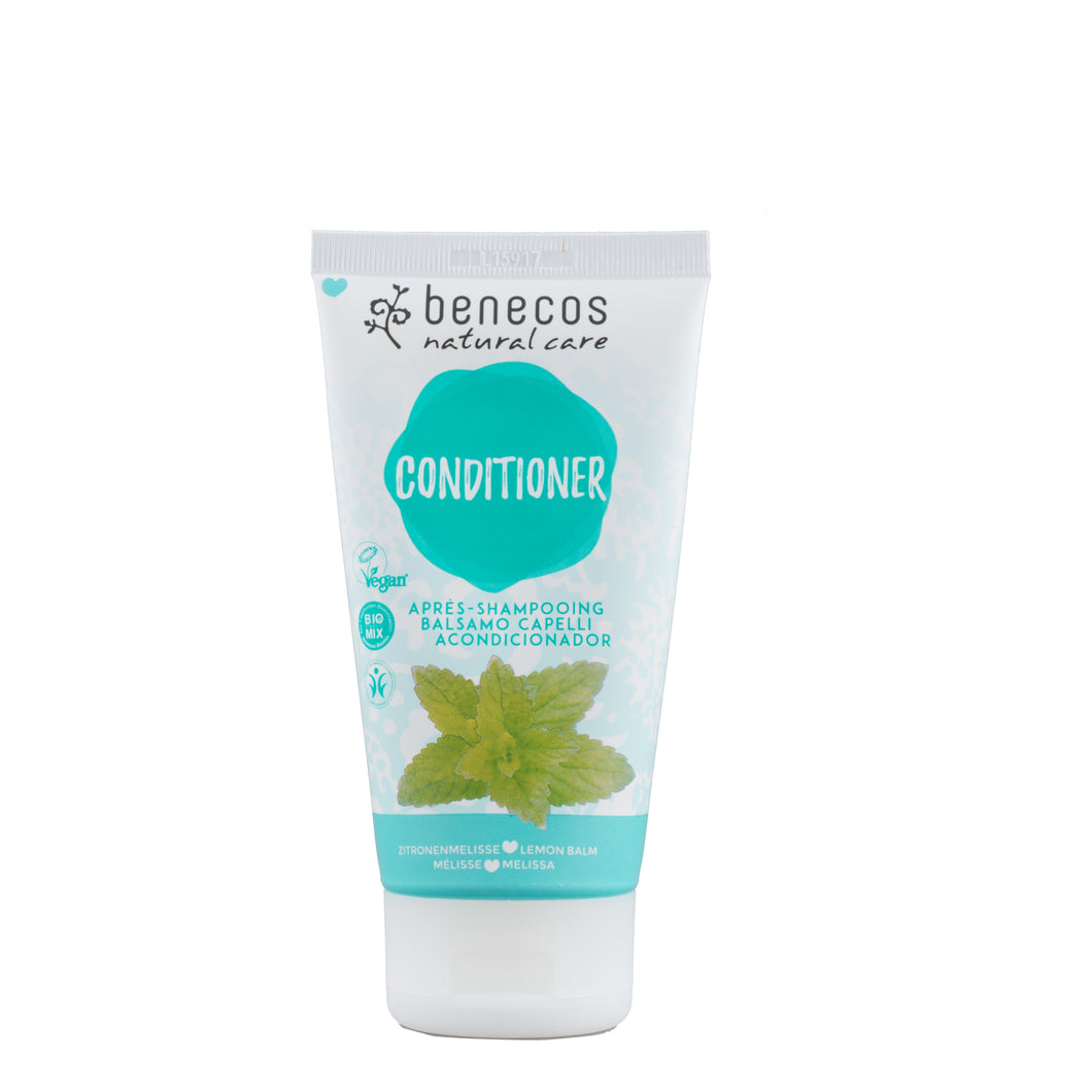 benecos Organic Melissa Conditioner - recommended for all hair types 150ml-Just Beauty Organics Store