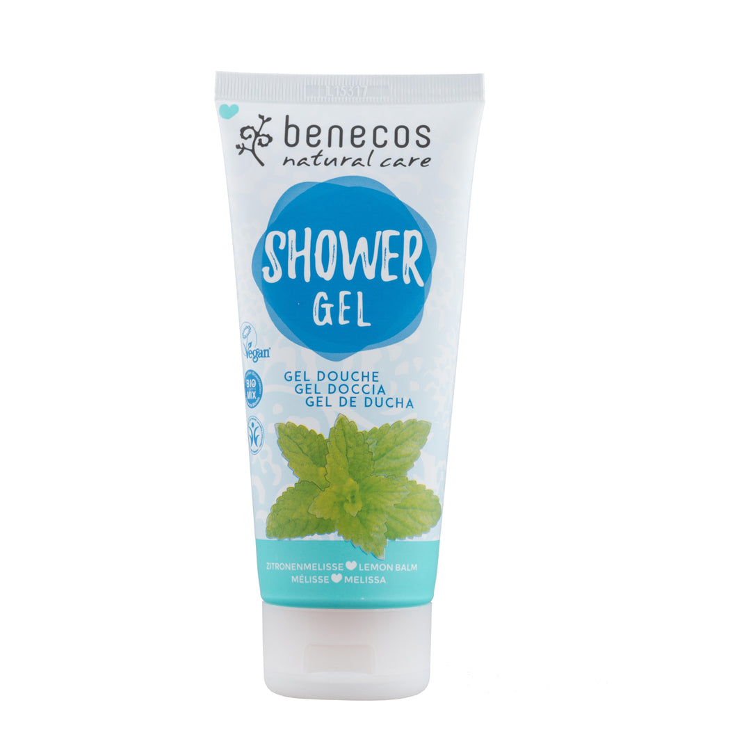 benecos Organic Melissa Shower Gel 200ml-Just Beauty Organics Store