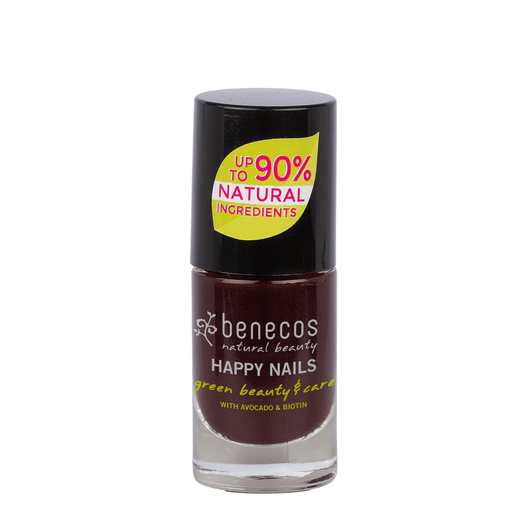 benecos Vamp Nail Polish 5ml-Just Beauty Organics Store
