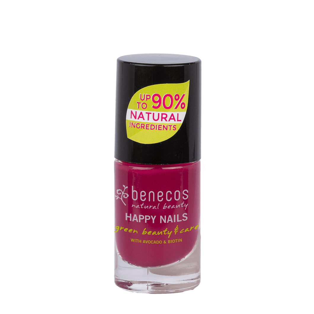 benecos Wild Orchid Nail Polish 5ml-Just Beauty Organics Store