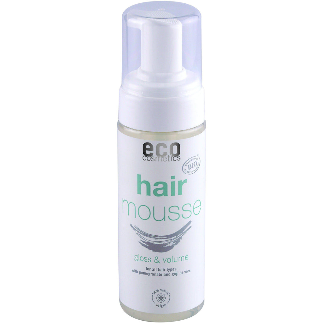Eco Cosmetics Organic Hair Mousse 150ml-Just Beauty Organics Store