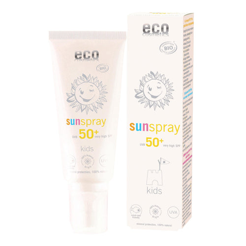 Eco Cosmetics Organic Kids Sun Spray SPF50+ 100ml-Just Beauty Organics Store
