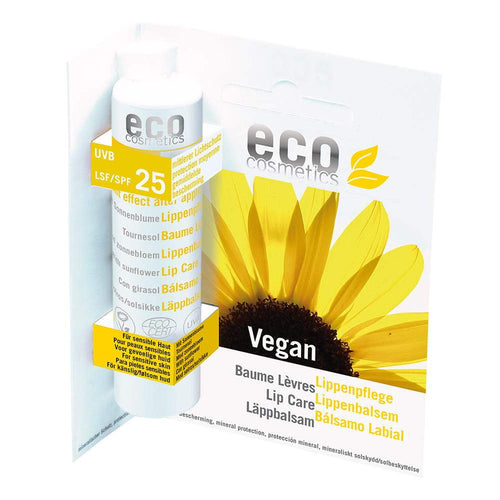 Eco Cosmetics Organic Lip Care Stick SPF25 4g-Just Beauty Organics Store