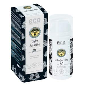 Eco Cosmetics Organic Tattoo Sun Lotion SPF30 100ml-Just Beauty Organics Store