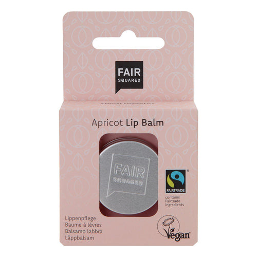 Fair Squared Organic Apricot Lip Balm 12g-Just Beauty Organics Store