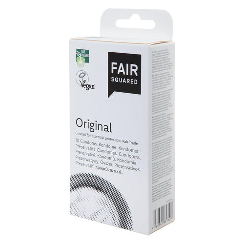 Fair Squared Original Condoms 10pc-Just Beauty Organics Store